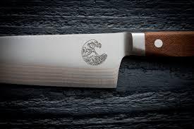 laser kitchen knives custom laser engraving tog japanese kitchen knives