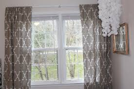 White Patterned Curtains Grey And White Patterned Curtains Home Design Ideas