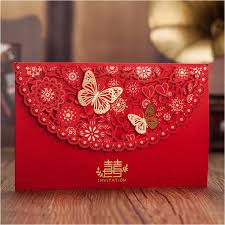 Red Wedding Invitations Featured Products