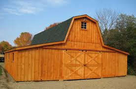 low profile with gambrel roof http www woodtex com barns and run