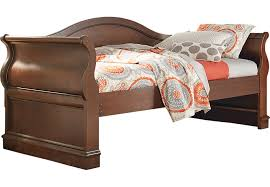 Wood Day Bed Dark Wood Daybed Furniture Cherry Espresso Mahogany Brown Etc
