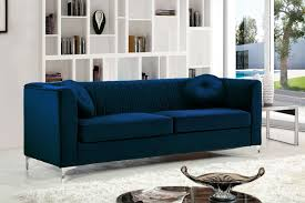 isabelle s cabinet coupon code meridian meridian isabelle velvet sofa in navy 612navy s isabelle