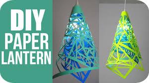 diy lanterns how to make hanging paper lanterns youtube