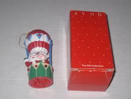 free avon musical santa air balloon christmas ornament