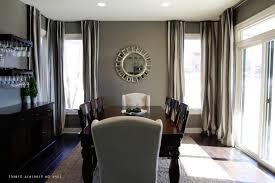 dining room decorating ideas on a budget white backsplash metal