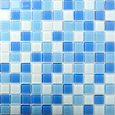 blue glass tile wavy blue random blue u0026 green iridescent