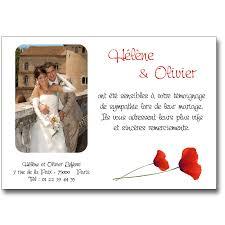 modele remerciement mariage remerciement mariage coquelicots lutin faire part