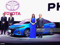 toyota national toyota unveils new prius plug in hybrid photos and images getty