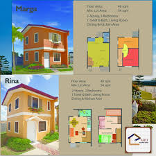Camella Homes Drina Floor Plan by Affordable Houses At Camella Tanza Cavite