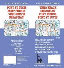 port st fl map florida maps catalogue gm johnson maps