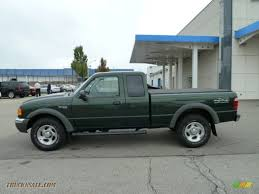 green ford ranger 2001 ford ranger xlt supercab 4x4 in woodland green metallic photo
