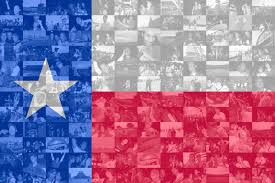 Texas State Flag Image Texas State Flag Photo Mosaic Print Custom Personalized
