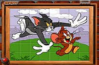 play tom jerry spin puzzle play free games