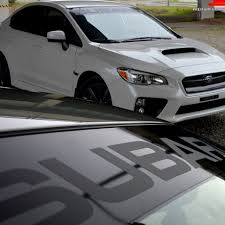 subaru side decal finishing touch home facebook