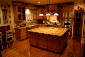 Kitchens With Hickory Cabinets Granite Countertops For The Kitchen Hgtv With Regard To Kitchen