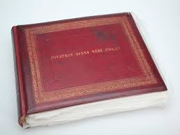 small photo albums photograph album presented to jonathan binns were melbourne 1888