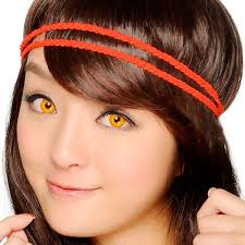 geo sf 01 crazy lens bloody wolf eyes halloween contact lens