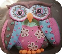 owl birthday cakes patchwork owl birthday cake cooking cakes children