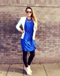 style file allium b audrey dress in blue lady loves fashion