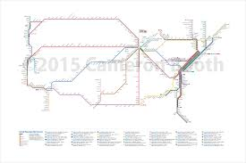 Amtrak National Map by Amtrak System As A Subway Map 4000x2667 Os Mapporn