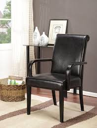 amazon com king u0027s brand set of 2 espresso parson chairs with arms