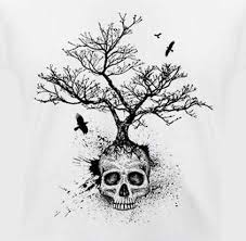 personalized tree skull sweatshirt white pullover for boys xxxl