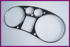 audi rings audi a3 8l 96 03 carbon fiber bezel rings chrome