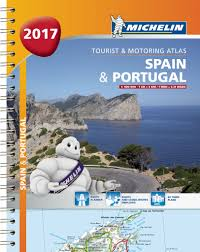 Portugal And Spain Map by Michelin Road Atlas Spain Italy Europe Michelin Maps U0026 Guides