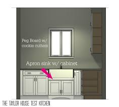 Kitchen Cabinet Floor Plans Planning A New Home Test Kitchen Cabinets The Taylor House