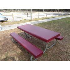 picnic table seat cushions beautiful picnic table seat covers velcromag picnic bench cushions