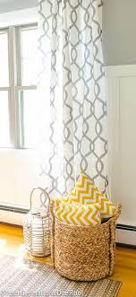 Grey And White Curtains Bedroom Amazing Best 25 Yellow And Grey Curtains Ideas On