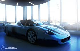 maserati mc12 blue maserati mc12 picture thread page 2