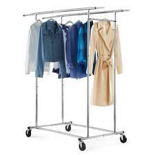Bed Bath And Beyond Bloomington In Dual Bar Adjustable Garment Rack Bed Bath U0026 Beyond