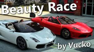 f430 vs lamborghini gallardo gta iv race f430 vs lamborghini gallardo