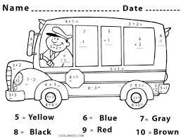 addition math worksheet coloring sheet free printable worksheets