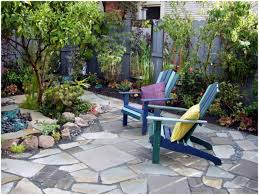 diy yard makeover front before and after with drought tolerant
