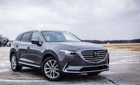 mazda crossover 2017 mazda cx 9 in depth model review car and driver