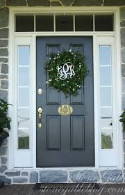 Colors For Front Doors Interesting 70 Front Door Colors For Gray House Inspiration