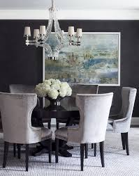 Dining Room Art Work Dining Room Transitional With Round Black - Dining room framed art