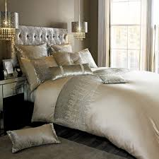 gold kylie minogue vida bedding free uk delivery terrys fabrics