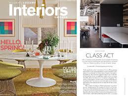 Leader Interiors Chip Von Weise Featured In Modern Luxury Interiors Chicago Von
