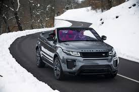 burgundy range rover black rims 2017 land rover range rover evoque convertible front three quarter