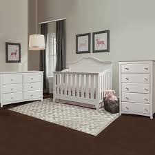 Rustic Convertible Crib by Thomasville Southern Dunes 3 Piece Nursery Set 4 In 1