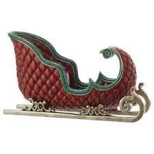 raz 21 5 resin sleigh tabletop decoration polyvore