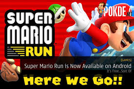 mario android mario run is now available on android it s free sort of