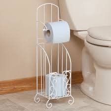 toilet paper stand toilet paper stand with storage by oakridge walter drake