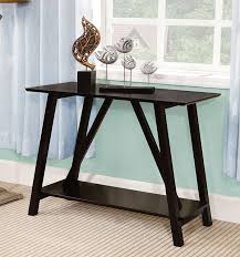 Storage Console Table by Amazon Com Furniture Of America Sawyer Rectangular Top Console