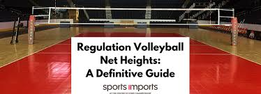 Backyard Volleyball Nets Regulation Volleyball Net Heights A Definitive Guide