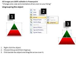 strategy 2d pyramid complex powerpoint slides and ppt diagram
