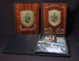Unique Wedding Albums Wedding Photo Albums Personalized Wedding Album In Wood Leather